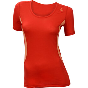 Aclima LightWool Round N - Ropa interior Mujer - rojo
